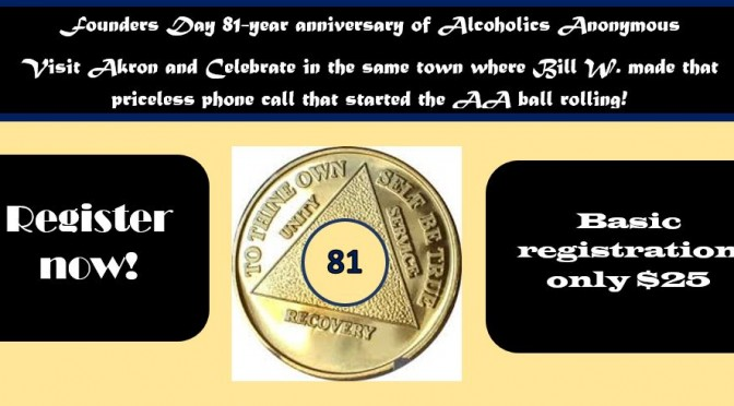 Founders Day 2016 Alcoholics Anonymous