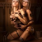 sexy twin robots